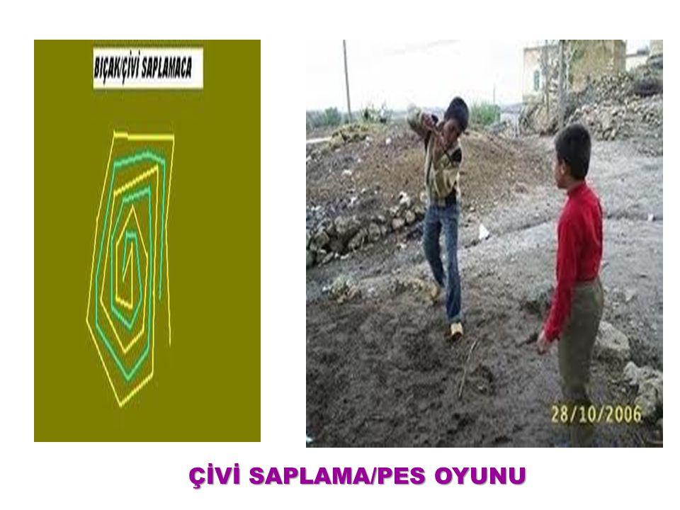 ÇİVİ SAPLAMA/PES OYUNU