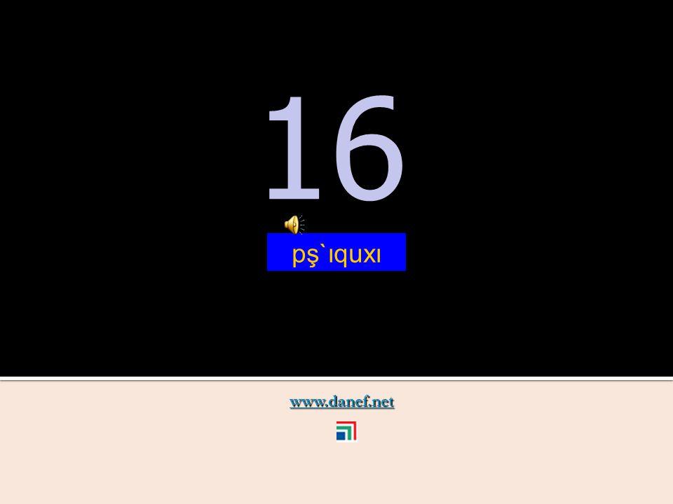 www.danef.net 15 15 pş`ıqutfı