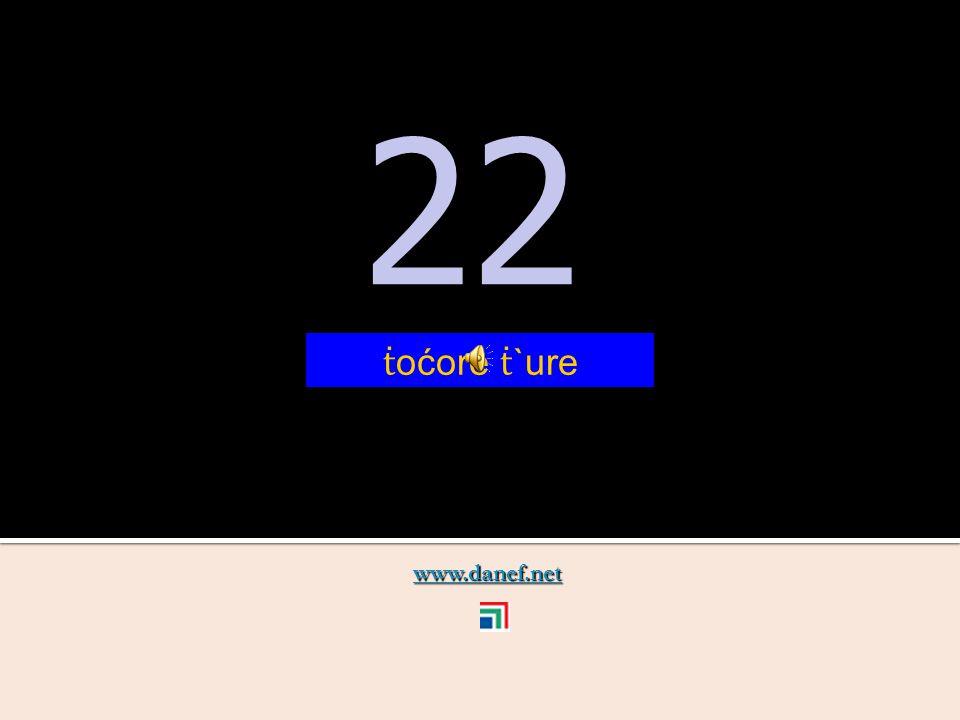 www.danef.net 21 21 ṫ oć zıre