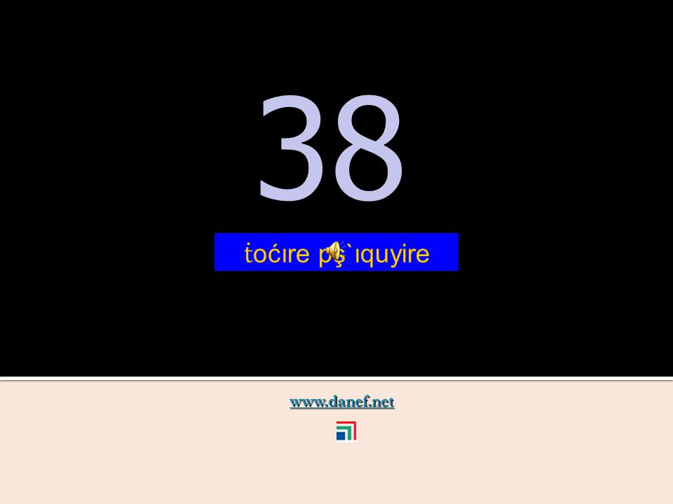 www.danef.net 37 37 ṫ oćıre pş`ıqublıre