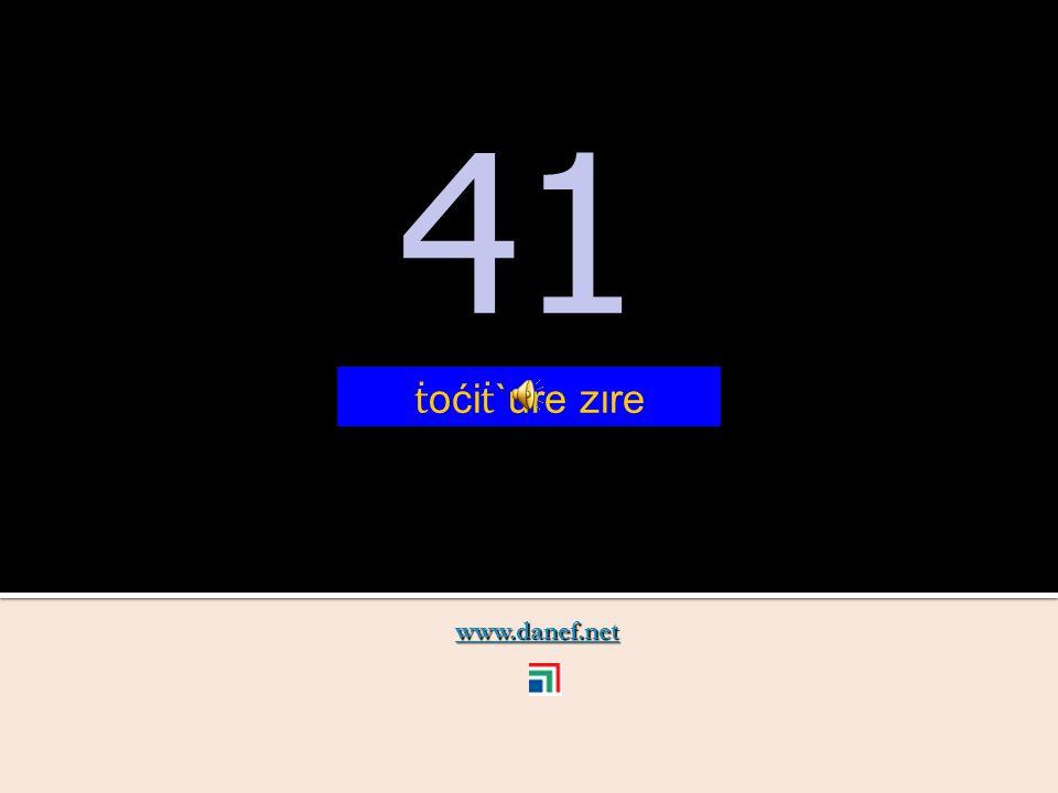 www.danef.net 40 40 ṫ oći ṫ `u
