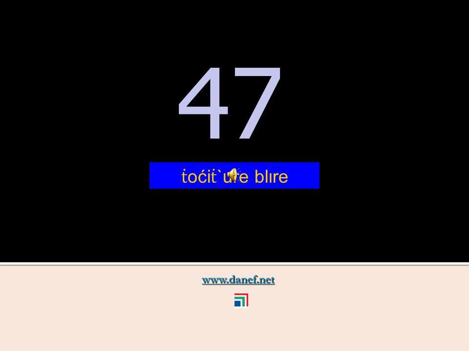 www.danef.net 46 46 ṫ oći ṫ `ure xıre