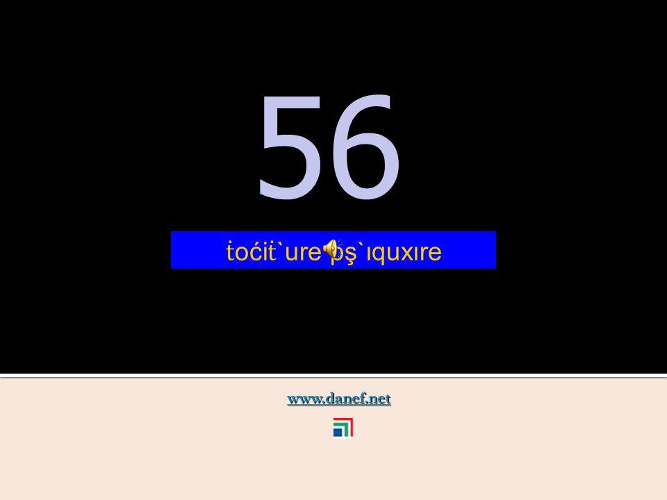 www.danef.net 55 55 ṫ oći ṫ `ure pş`ıqutfıre