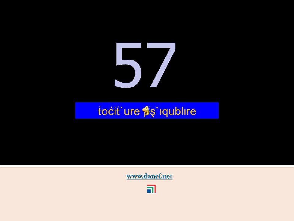 www.danef.net 56 56 ṫ oći ṫ `ure pş`ıquxıre