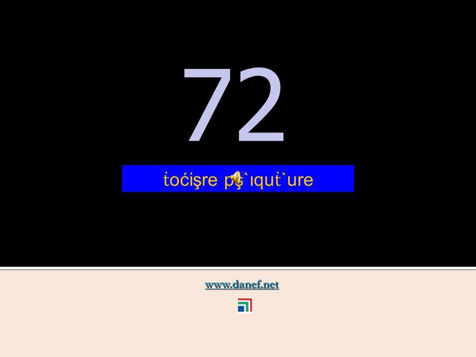 www.danef.net 71 71 ṫ oćişre pş`ıquzıre