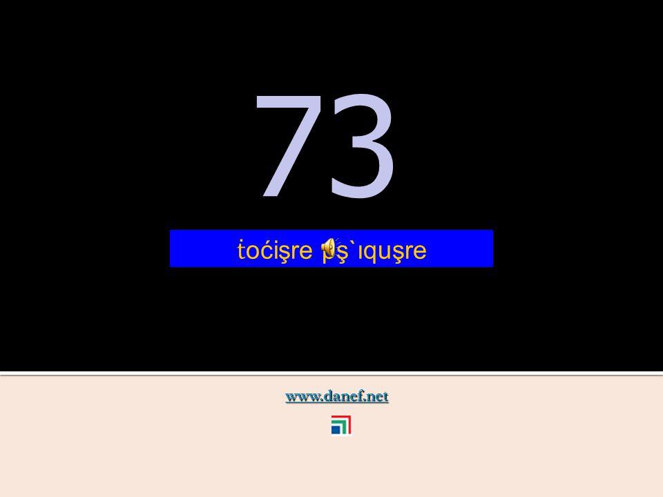 www.danef.net 72 72 ṫ oćişre pş`ıqu ṫ `ure