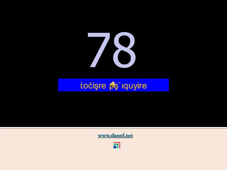 www.danef.net 77 77 ṫ oćişre pş`ıqubĺıre