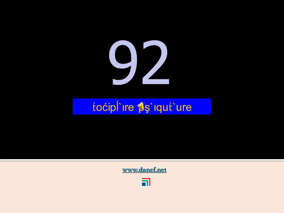 www.danef.net 91 91 ṫ oćipĺ`ıre pş`ıquzıre