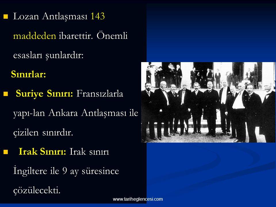 Bütün bu konularda antlaşma sağlanamadığı için 4 Şubat'ta konferans kesildi. Bu sırada Türk ordu- su, Boğazlar, Trakya ve Musul üzerine gerekirse hare