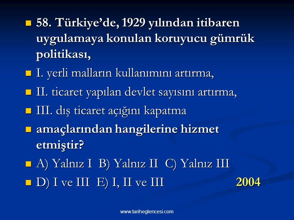Tohum Islah İstasyonları kuruldu. Sula- maya önem verildi. Ankara'da Yüksek Ziraat Enstitüsü ve Baytar Yüksek Okulu açılmıştır. Bazı bölgelerimizde ye