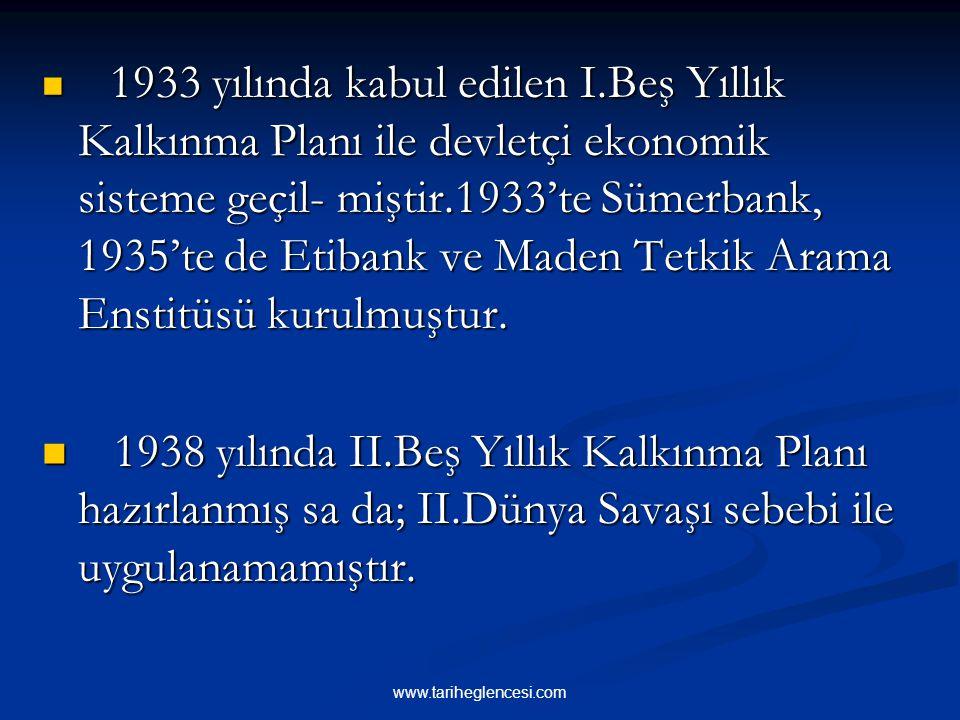 1929 yılında dünyada meydana gelen eko- nomik buhran,Türkiye'nin zenginleşmesini de olumsuz yönde etkilemiştir. Özel teşeb- büs sanayi alanındaki yatı