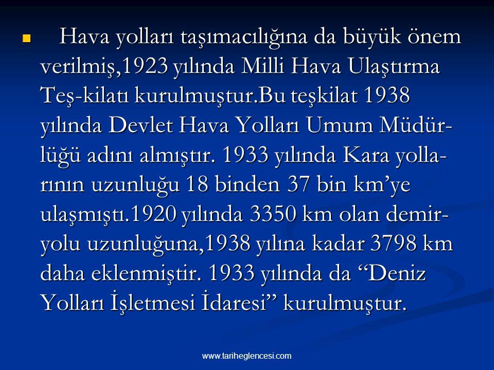 5-BAYINDIRLIK VE ULAŞTIRMA ALANINDA GELİŞME Osmanlı Devleti'nin son dönemlerinde, Ana- dolu'da her bakımından ihmal edilmiş, bayındırlık işlerine yete