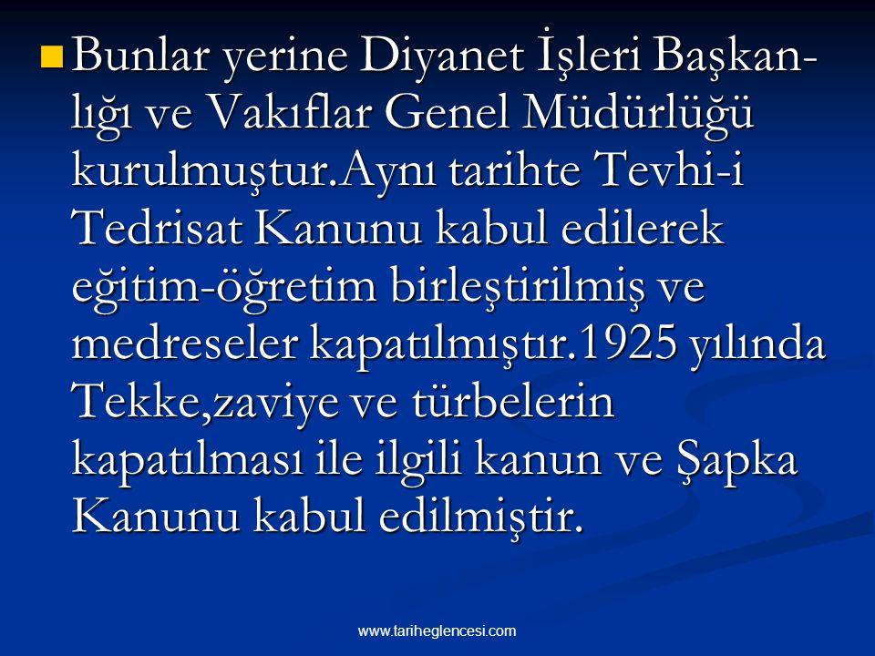 2-DİN- DEVLET İLİŞKİLERİ VE AŞAMALARI Mustafa Kemal,yapacağı inkılap hare- ketlerine karşı,dini politikaya alet etmek isteyenlerin çıkabileceğini düşü