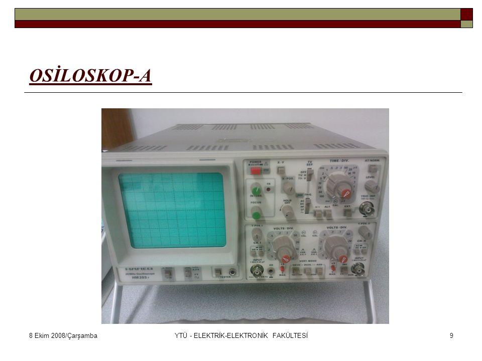 8 Ekim 2008/ÇarşambaYTÜ - ELEKTRİK-ELEKTRONİK FAKÜLTESİ40 EWB-4A HATALI BAĞLANTILAR-C Kondansatör açık devre yapılmaz.