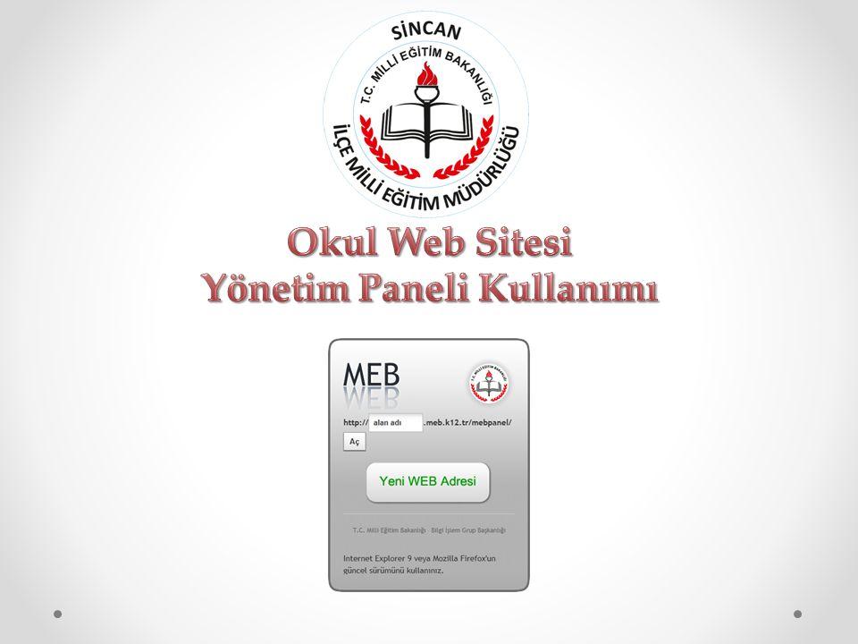 2 Millî Eğitim Bakanlığı Bilgi İşlem Grup Başkanlığı tarafından ortak web sitesi tasarım çalışması yapılmıştır.