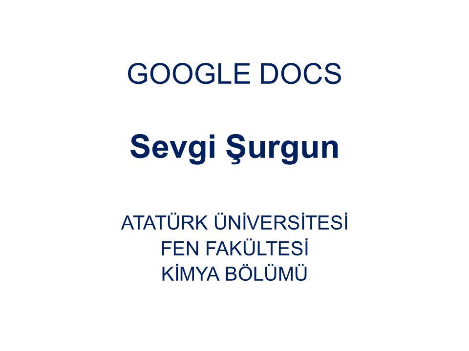 Google Docs Nedir.