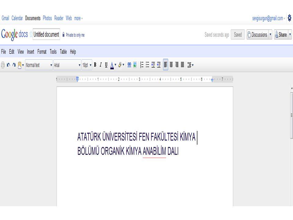 Oluşturduğunuz bu metine link alabilir veya bu metini mail olarak gönderebilirsiniz.