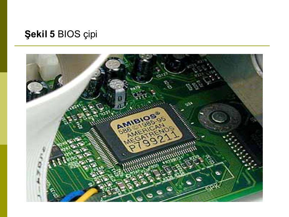 Şekil 5 BIOS çipi