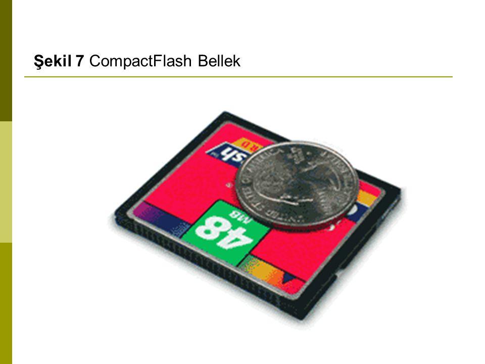 Şekil 7 CompactFlash Bellek