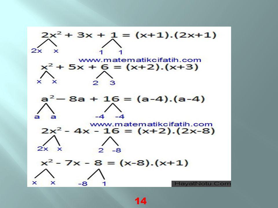  Tanım : 1 ve kendinden başka sayılara bölünemeyen sayılara asal sayılar denir.  En küçük asal sayı 2'dir.  Örneğin; 2,3,5,7,11,13,…,2,3,5,7,11,13,