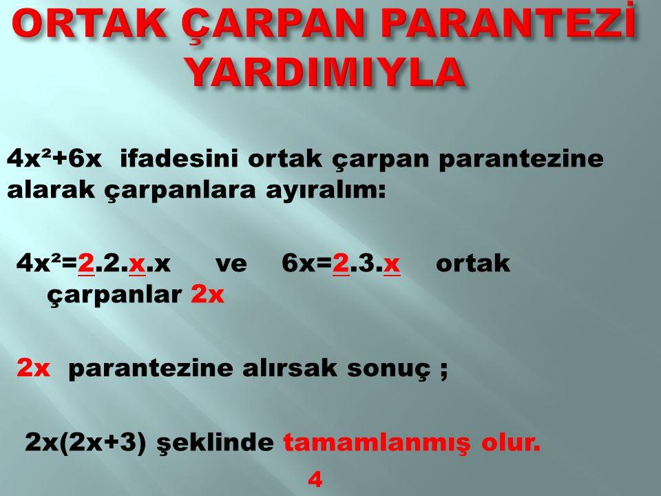 35,49 ve 72 sayılarını asal çarpanlarına ayıralım: 35=7x5 → 7 ile 5 35'in asal çarpanlarıdır→ 7 ile 5 35'in asal çarpanlarıdır 49=7x7 → 7, 49'un asal