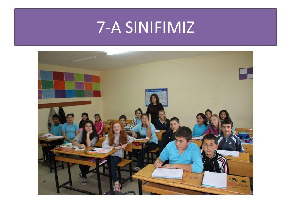 7-A SINIFIMIZ