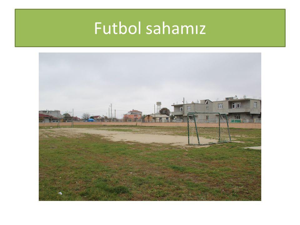 Futbol sahamız