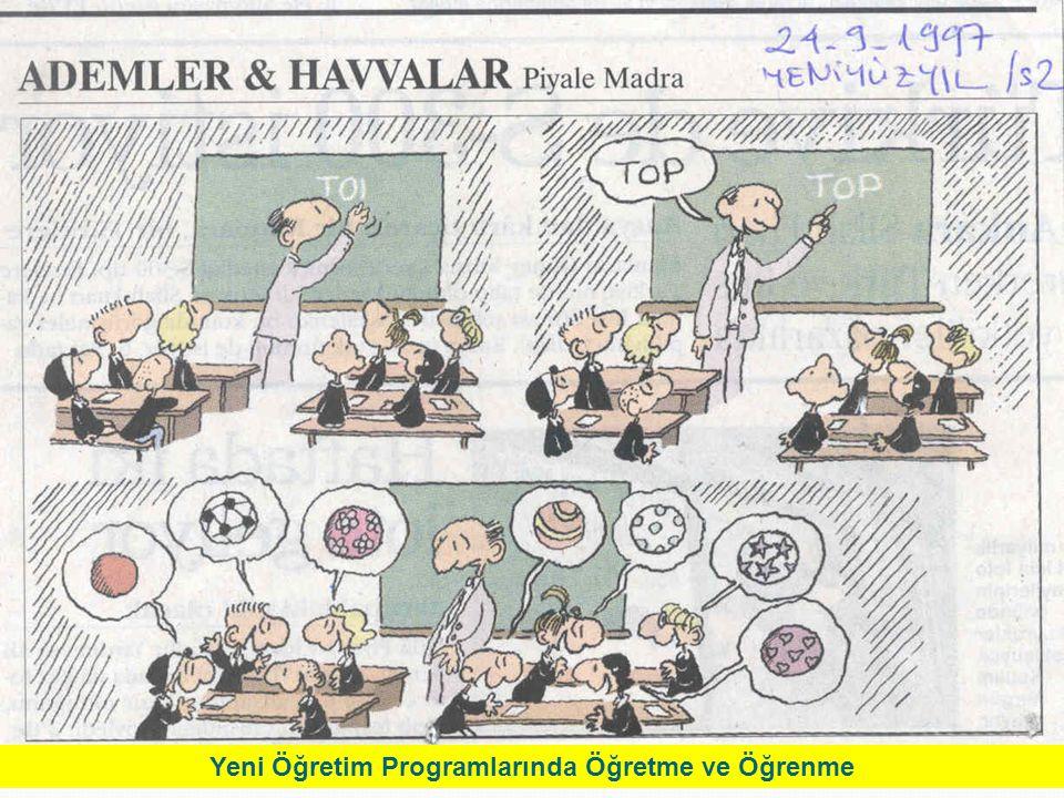 6 Yeni Öğretim Programlarında Öğretme ve Öğrenme