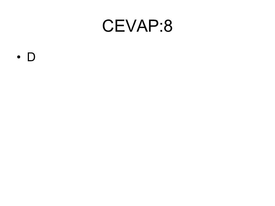 CEVAP:8 D