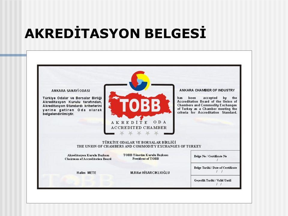 AKREDİTASYON BELGESİ