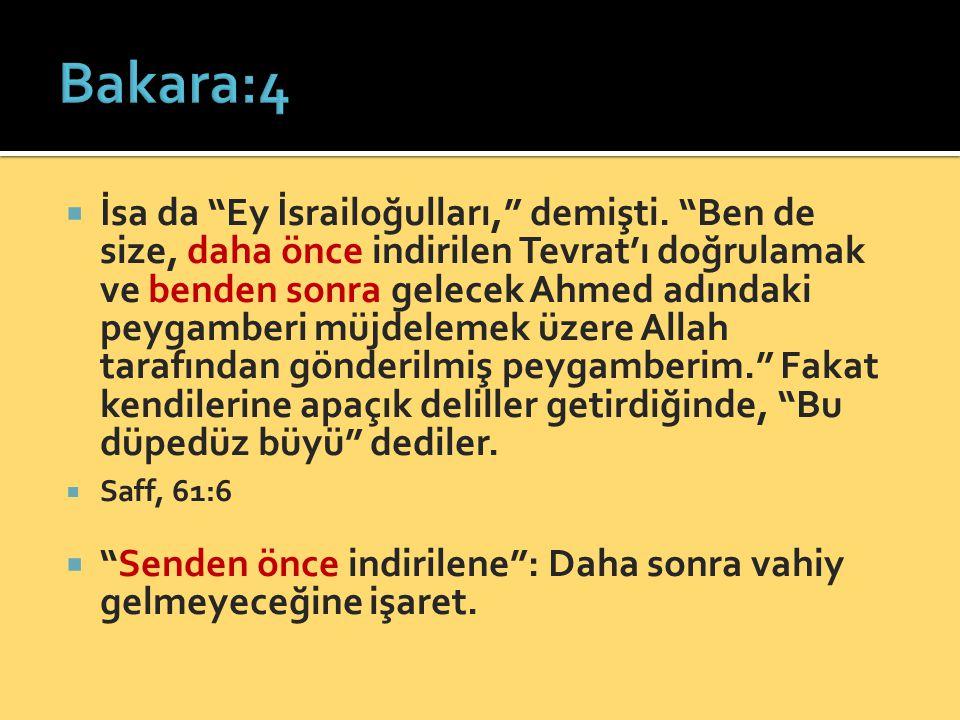  Müslümanlara:  Kur'ân'a iman ettiğiniz gibi, ondan önceki kitaplara da iman edin.  Ehl-i Kitaba:  Size indirilen kitaplara inandığınız gibi, Kur'ân'a da iman edin.