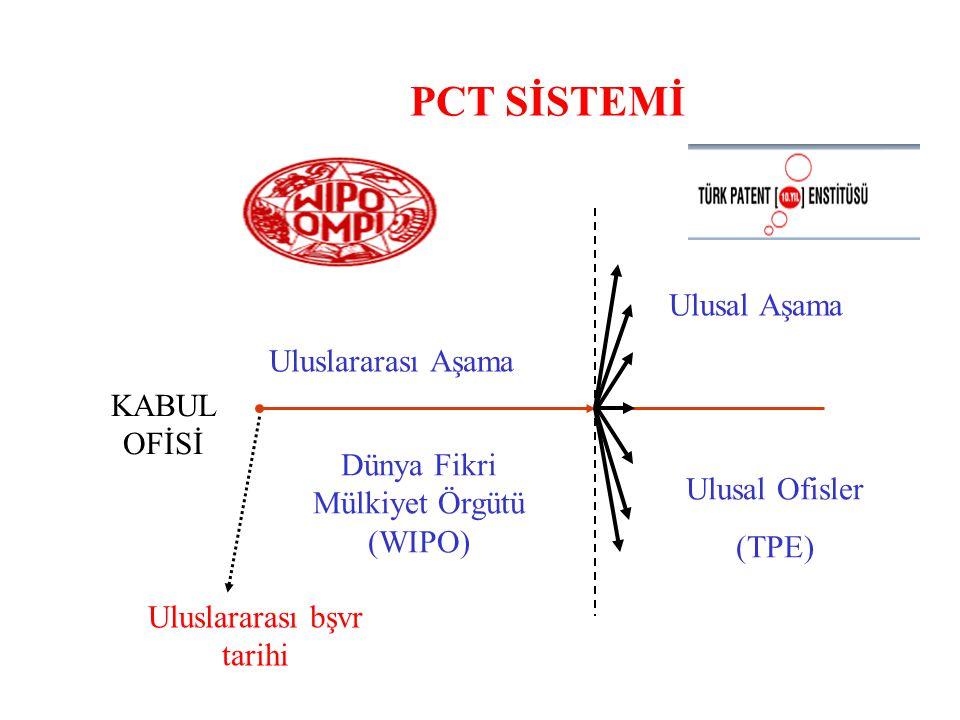 PCT Başvurusu (TPE-P-104 Form) dilekçe ekinde Enstitümüze sunulması gerekmektedir.