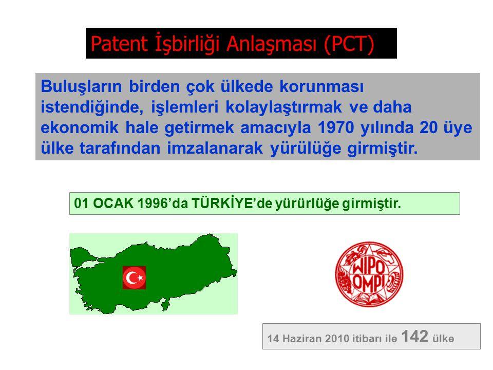 GELENEKSEL PATENT SİSTEMİ (1.YOL) 12 ay A.Bülent DALOĞLU, Patent Uzmanı, bdaloglu@tpe.gov.trA.