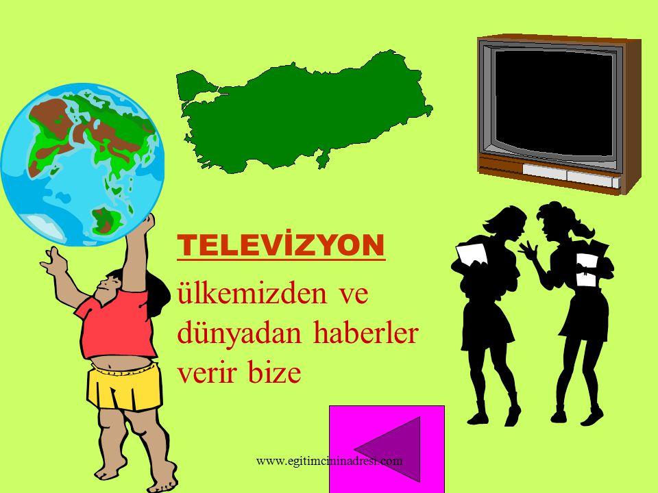 HEDEF ve HEDEF DAVRANIŞLAR Haberleşme araçlarının çocuklar tarafından öğrenilmesi Yararlarının öğrenilmesi Kullanılması www.egitimcininadresi.com