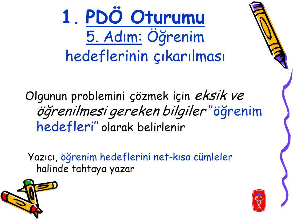 1.PDÖ Oturumu 5.