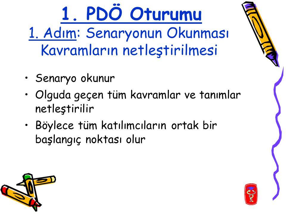 1. PDÖ Oturumu 1.