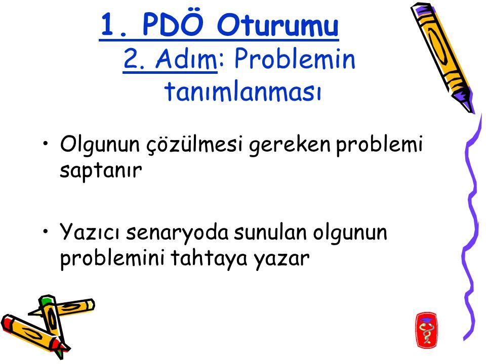 1. PDÖ Oturumu 2.