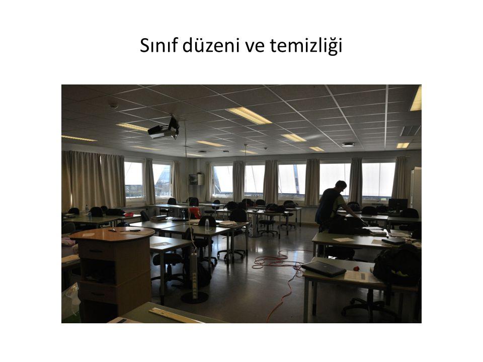 Sınıf düzeni ve temizliği