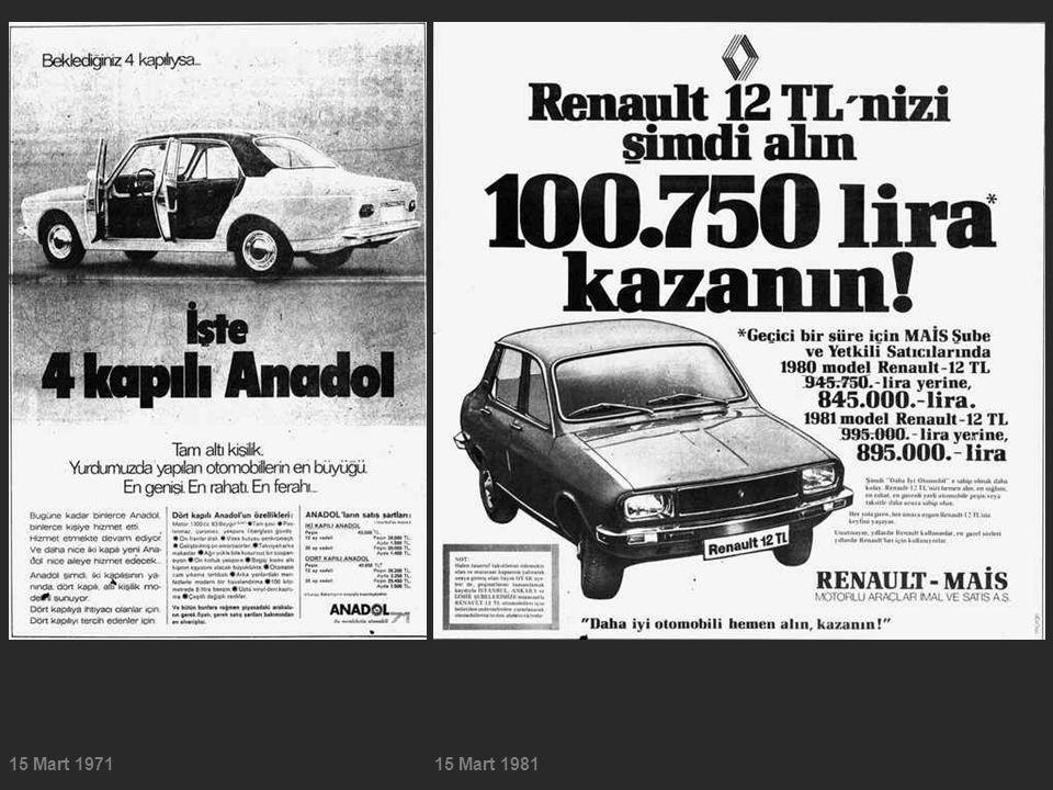 15 Mart 197115 Mart 1981