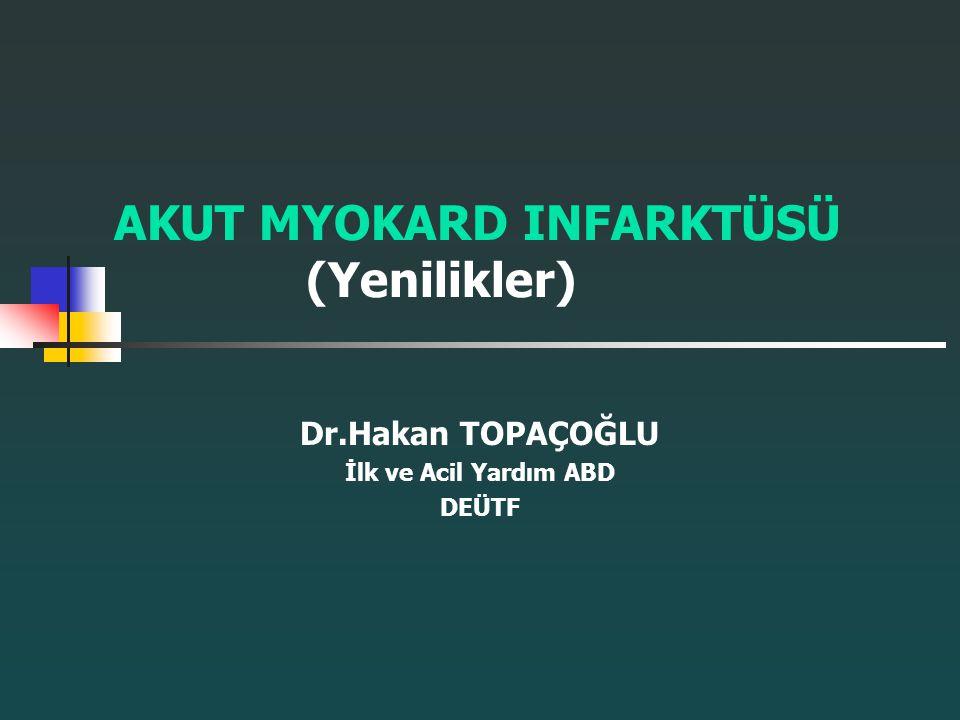 Trombolitik ajanların sınırlamaları Halihazırda myokapiller düzeyde perfüzyonu bedside değerlendiren teknik yoktur.