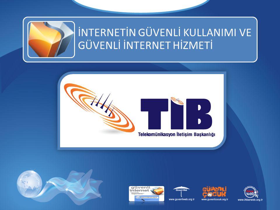22 PROFİLLER ARASI GEÇİŞLER İnternetin Güvenli Kullanımı ve Güvenli İnternet Hizmeti2222