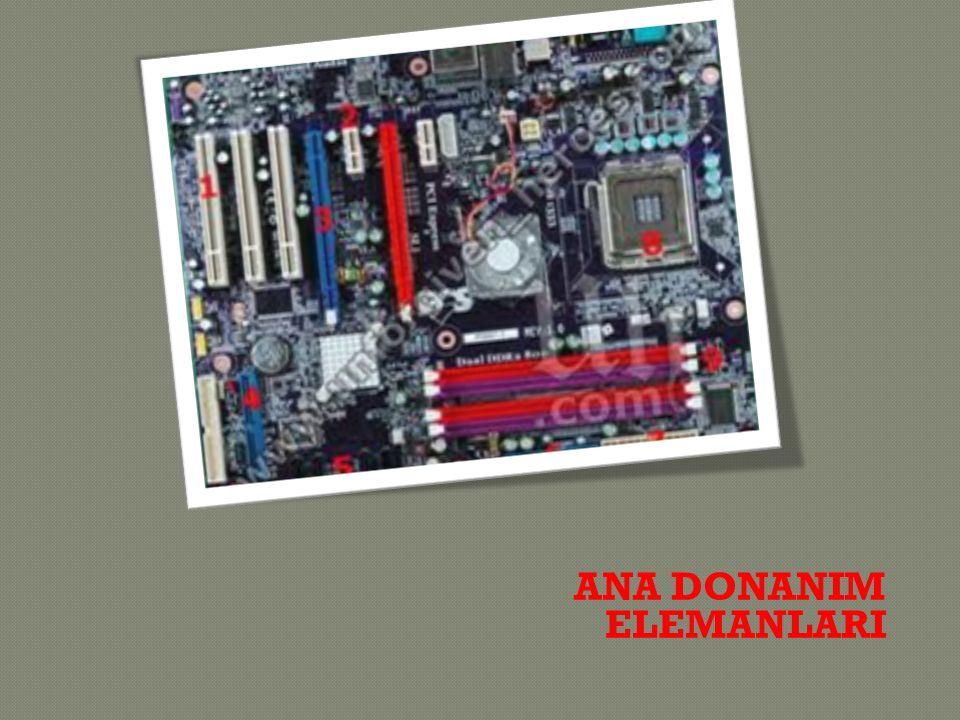  Bilgisayarın sesi i ş lemesini ve daha sonra bu sesi kullanıcıya aktarmayı sa ğ layan bir karttır.