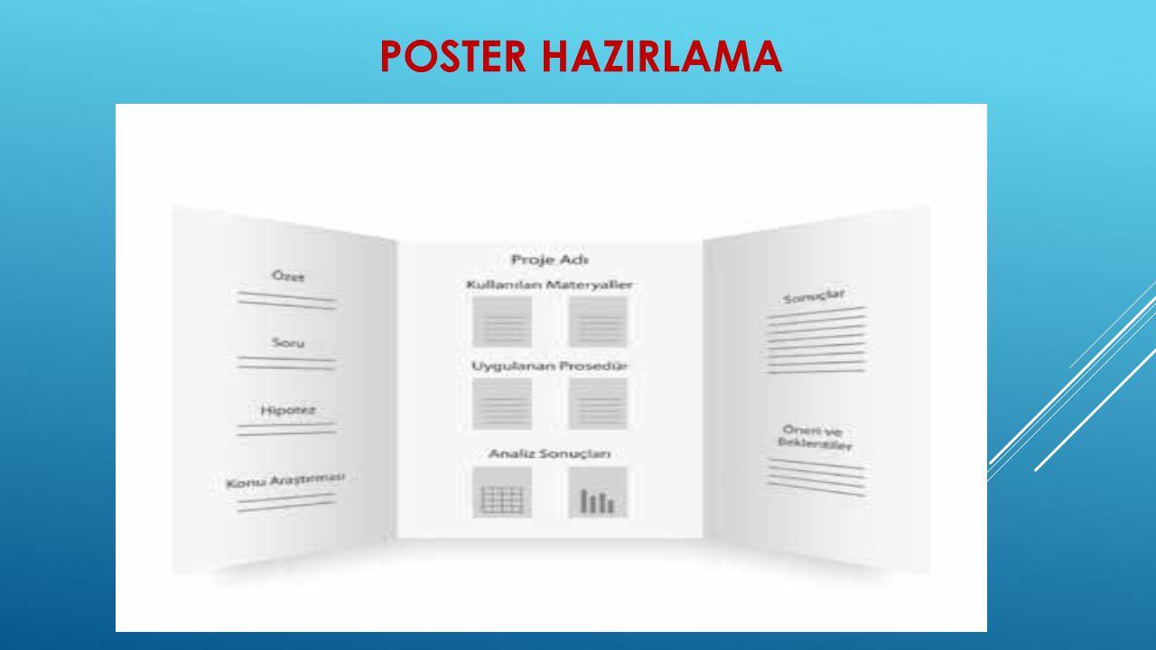 POSTER HAZIRLAMA