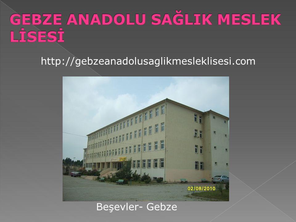 http://gebzeanadolusaglikmesleklisesi.com Beşevler- Gebze