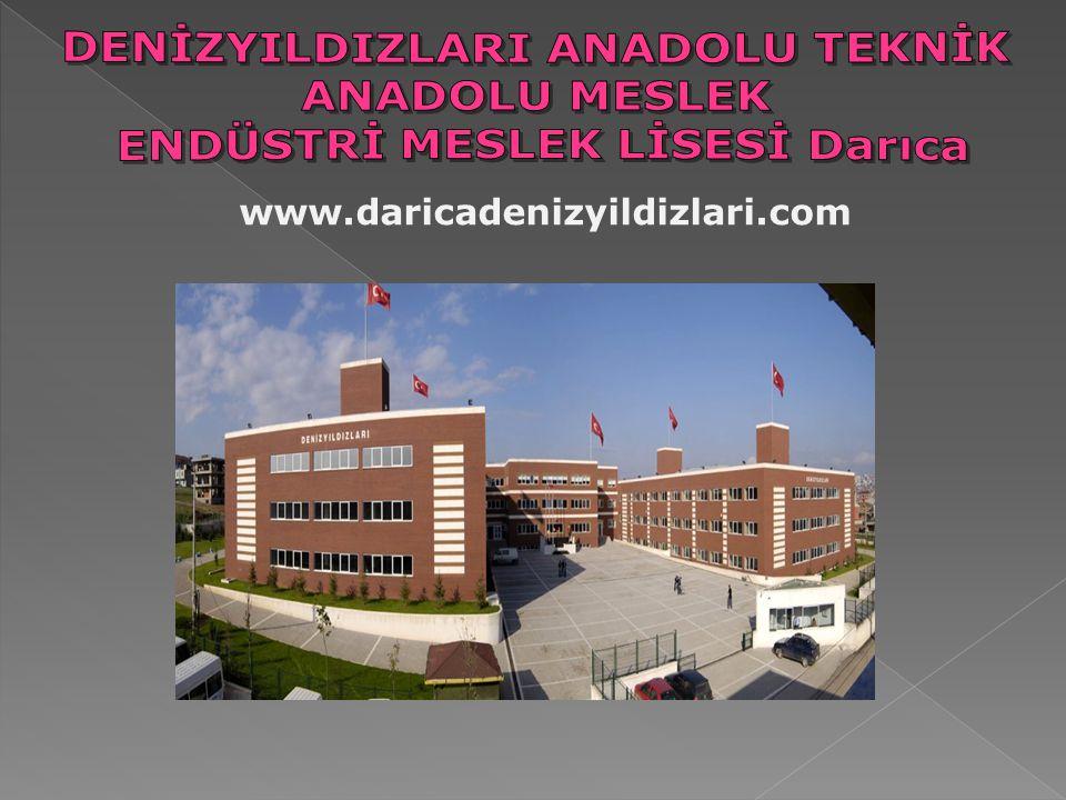  Diploma Puanı ile öğrenci alan bölümleri;  Metal teknolojisi alanı;  Bilişim teknolojileri alanı  Elektrik- Elektronik teknolojileri alanı  Makine teknolojisi alanı  Mobilya ve iç mekan tasarımı alanı