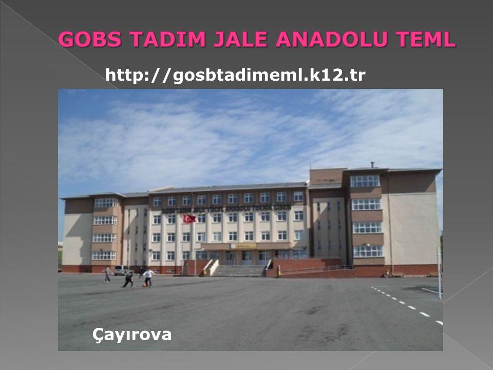 http://gosbtadimeml.k12.tr Çayırova