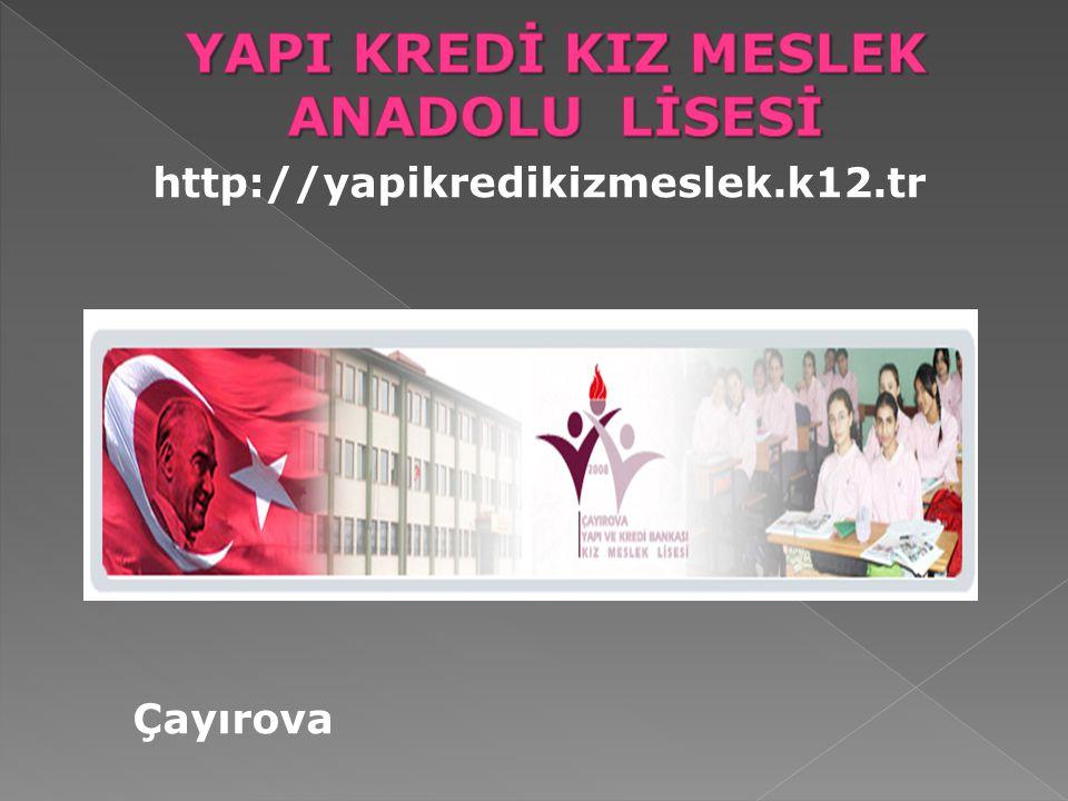 http://yapikredikizmeslek.k12.tr Çayırova