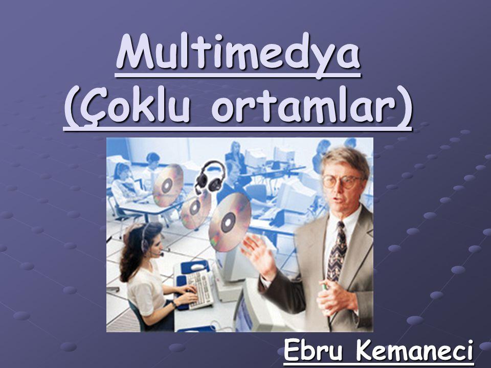 Multimedya (Çoklu ortamlar) Ebru Kemaneci