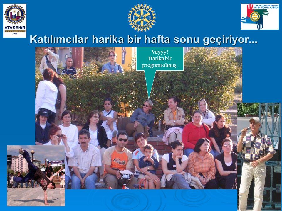 07-08 Haziran 2008 24 Katılımcılar harika bir hafta sonu geçiriyor...
