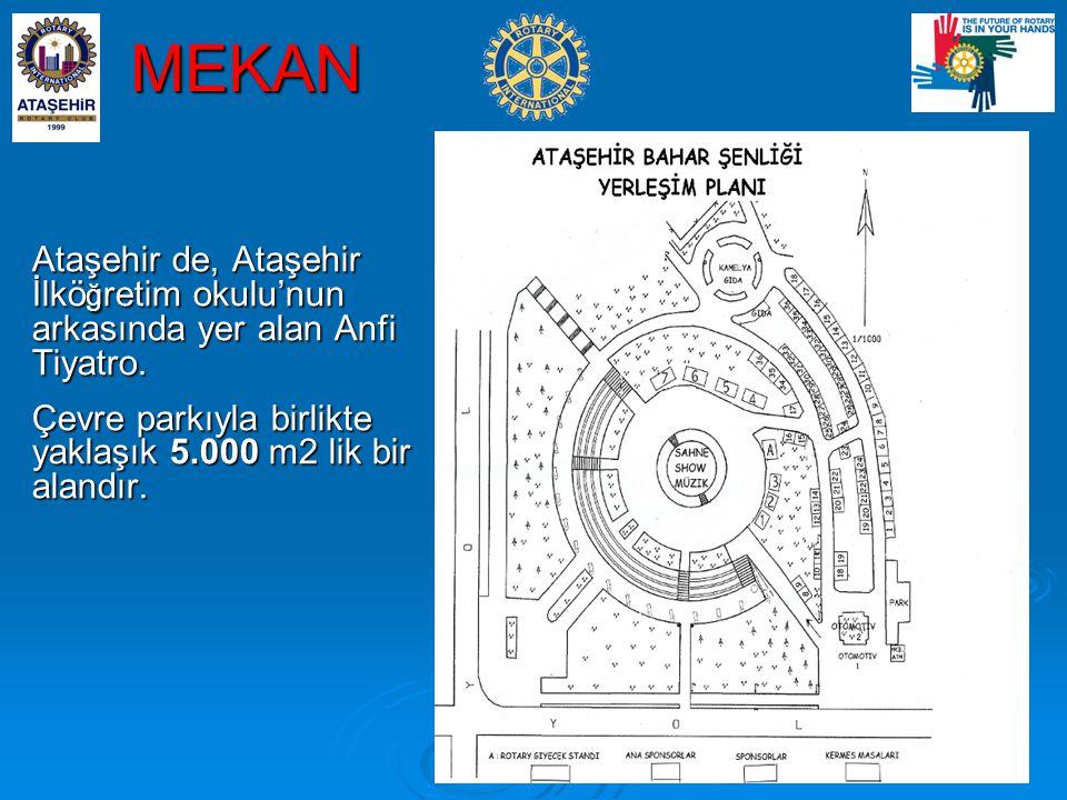 MEKAN Ataşehir de, Ataşehir İlkö ğ retim okulu'nun arkasında yer alan Anfi Tiyatro.